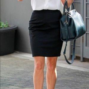 Club Monaco Jodi Black Pencil Skirt
